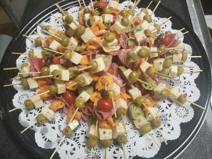 Antipasto Kebabs