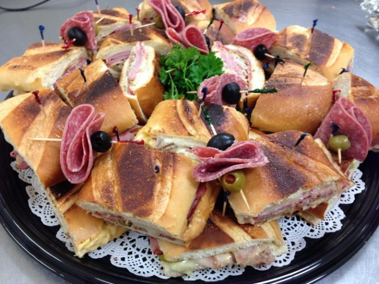 Cuban Sandwich Tray