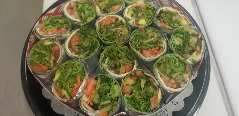 Veggie Wrap Tray